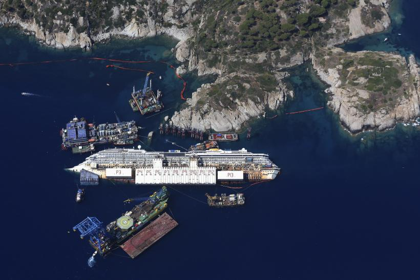 Costa Concordia Salvage Operation - A Slideshow