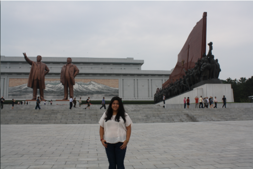 Michelle FlorCruz North Korea 2013