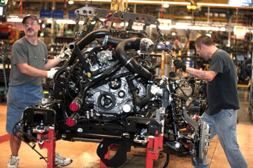 Ford Plant manufacturing Getty Images 2009