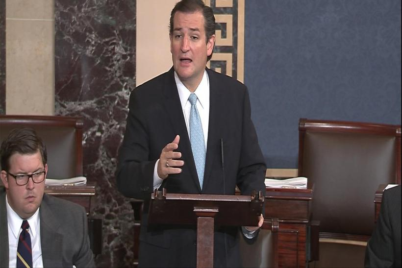 Ted Cruz Faux Filibuster