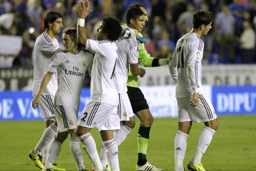 Real Madrid, Levante