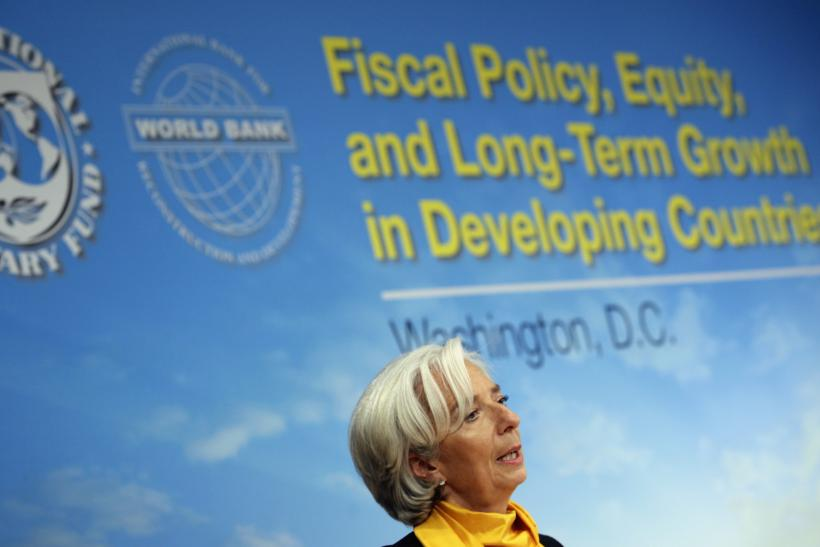 IMF Lagarde April 2013