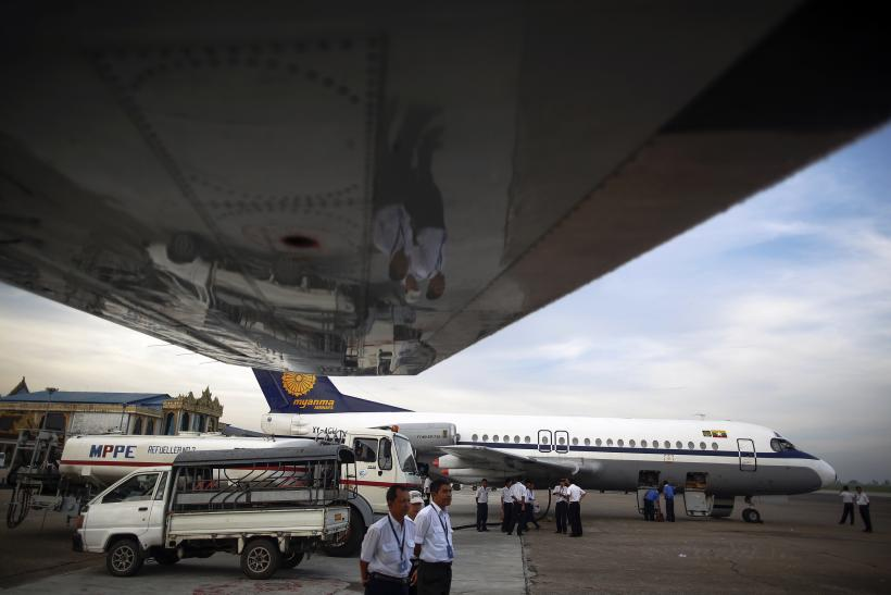 Airlines in Myanmar