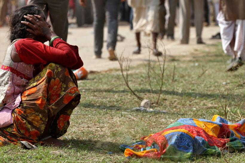 Victims of Indian temple stampede