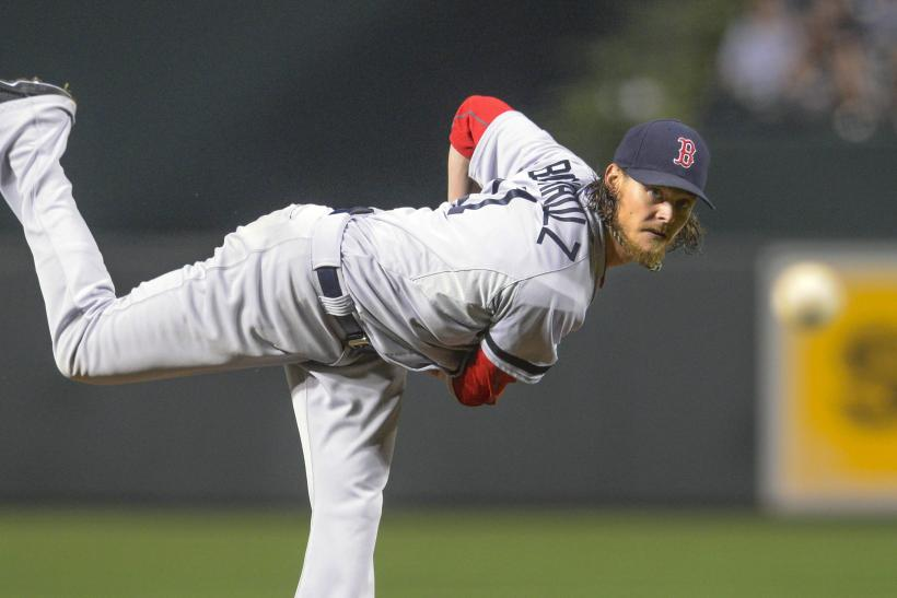 Clay Buchholz Boston Red Sox