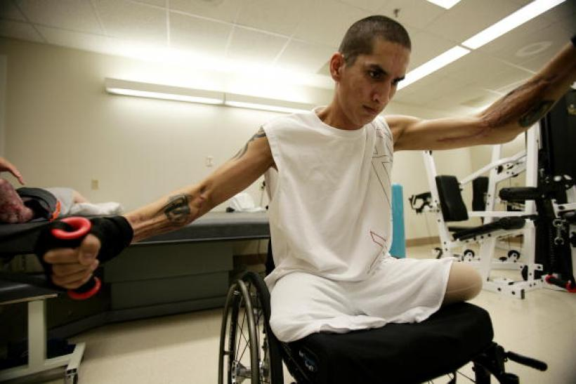 US Veteran Disabled Texas Pic #2 Getty Image