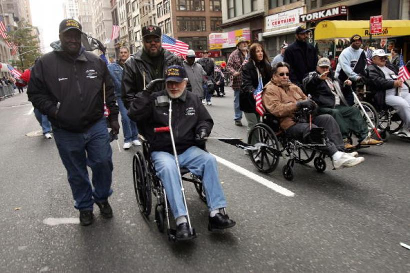 US Veterans Disabled NYC 2004 Getty