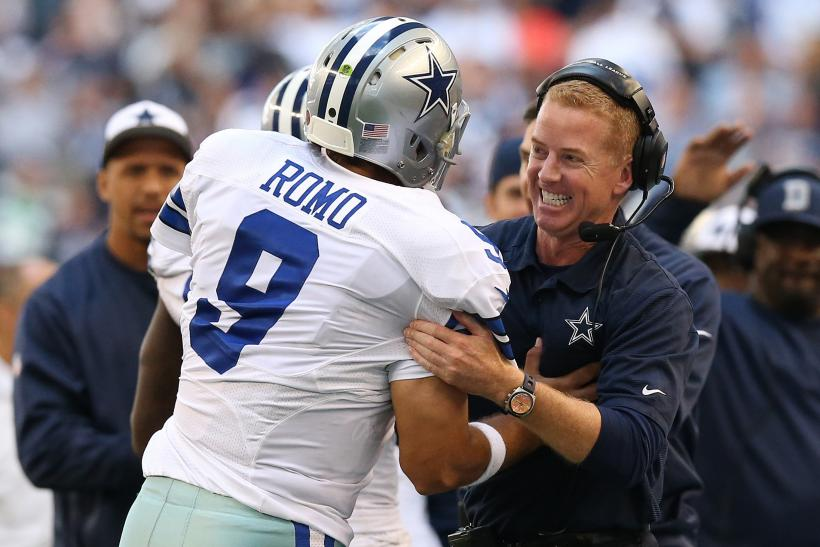 Tony Romo Jason Garrett Dallas Cowboys