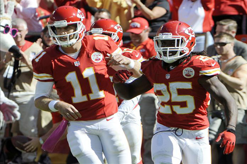 Alex Smith Jamaal Charles