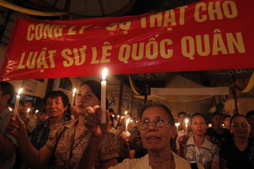 Vietnam_Anticorruption Protest