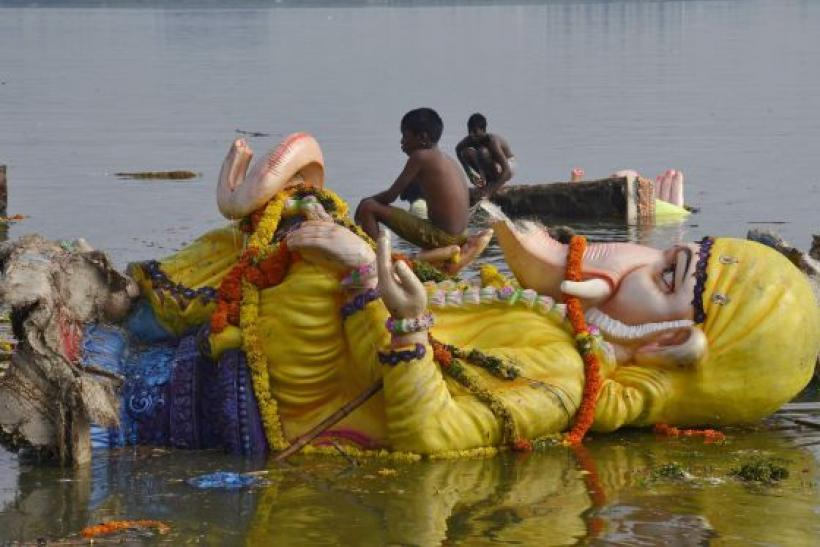 17 Hindu devotees drowned during a religious ritual celebrating the birth of the elephant-headed Hindu deity Ganesha