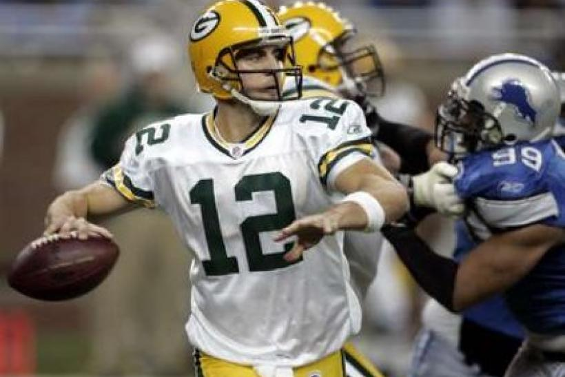 Aaron Rodgers Packers