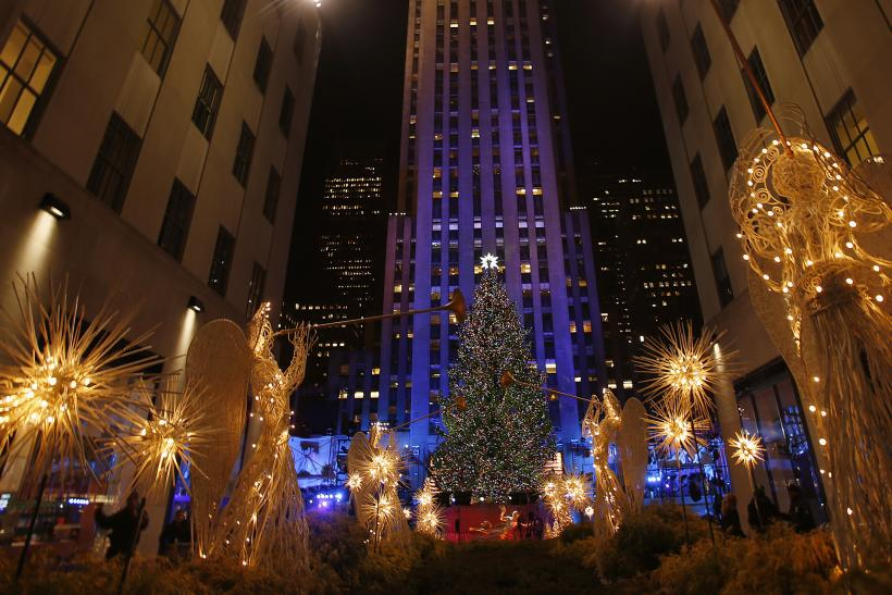 rockefeller center christmas tree lighting 2013 when and how to view the live show - Rockefeller Christmas Show