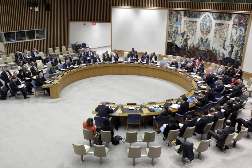UNSC Meeting