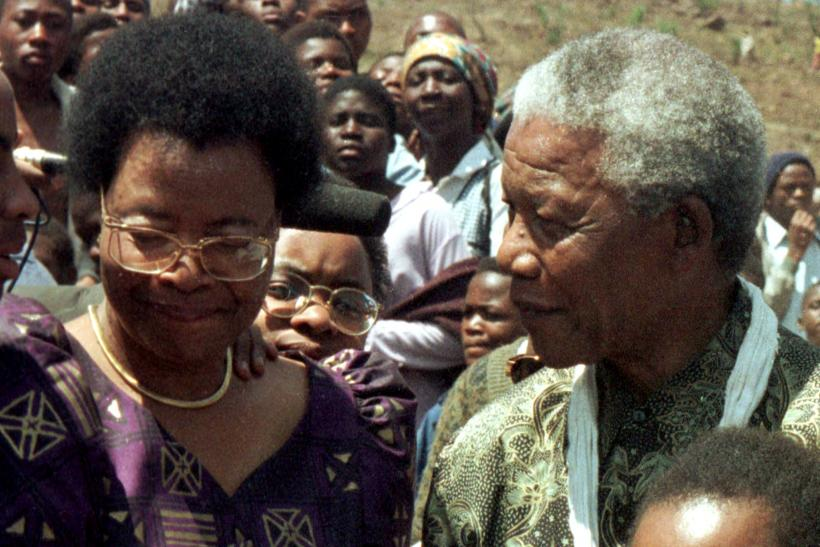 Mandela and Machel