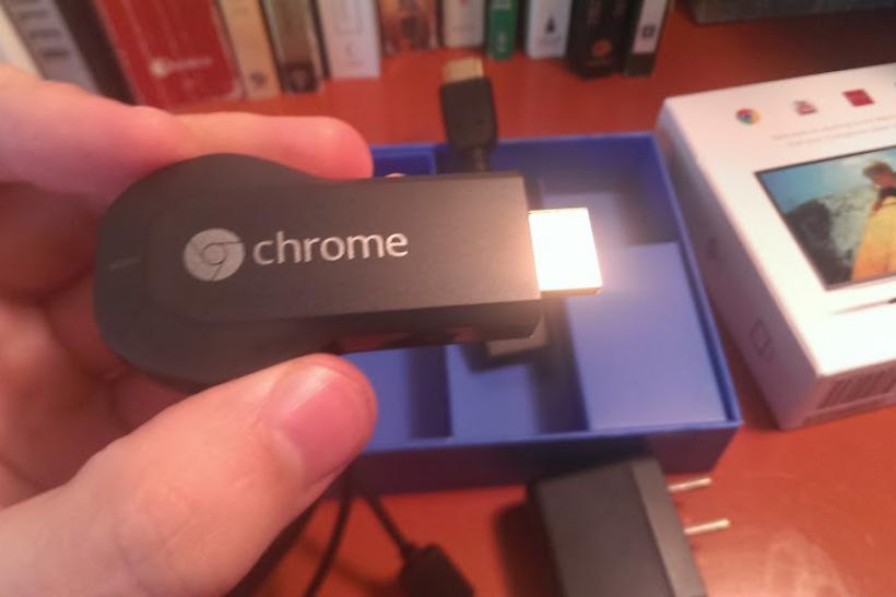 Chromecast Halleck New Apps Review Songza Spotify