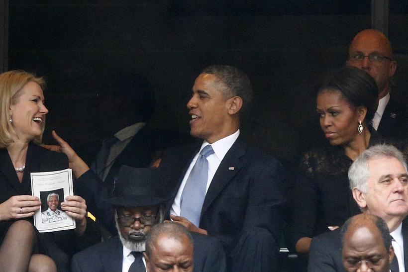President Obama, Helle Thorning-Schmidt