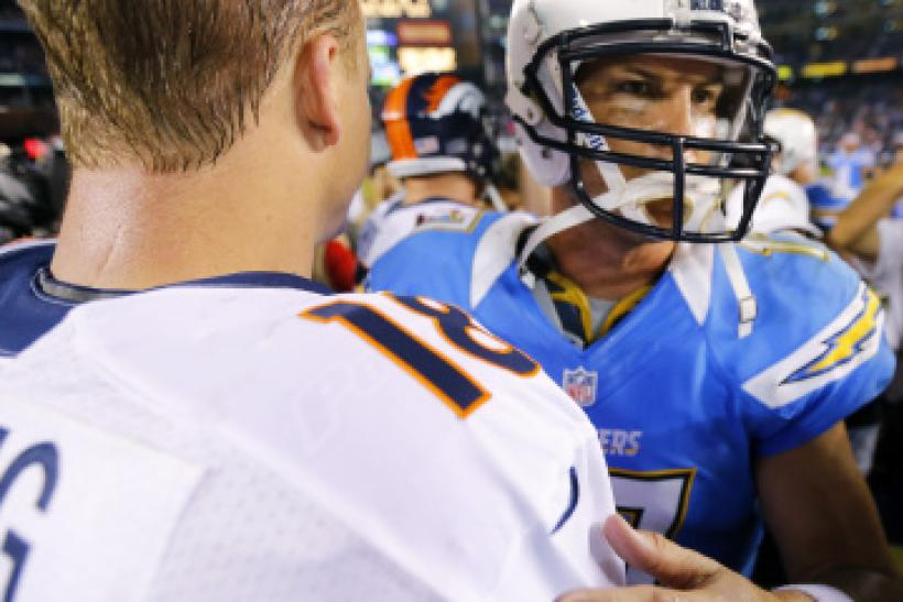 Peyton Manning Philip Rivers