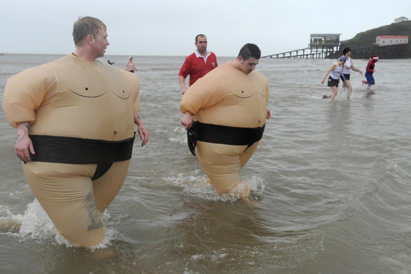 Boxing Day swim_Wales
