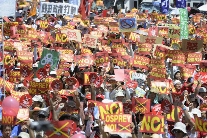 Protests Against Marine Corps Air Station Futenma, Okinawa