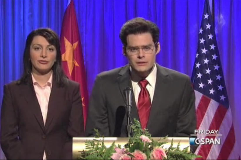 SNL China Skit