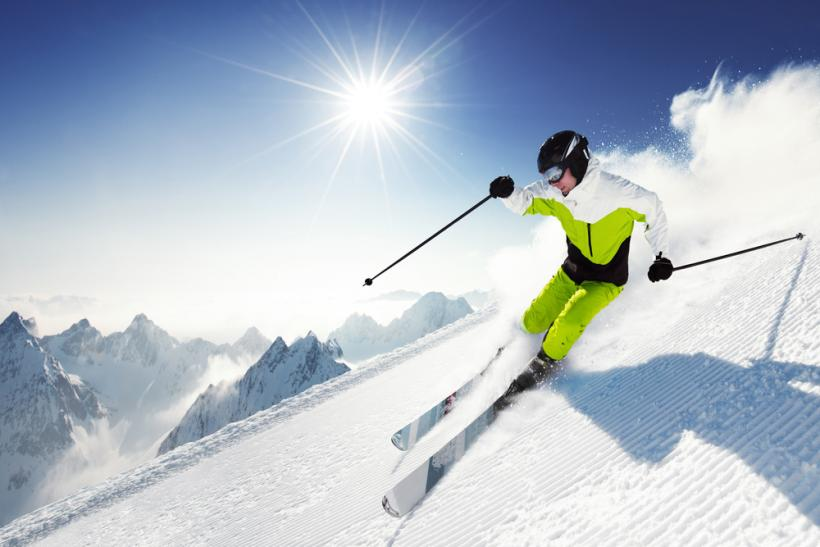Skiing by Shutterstock