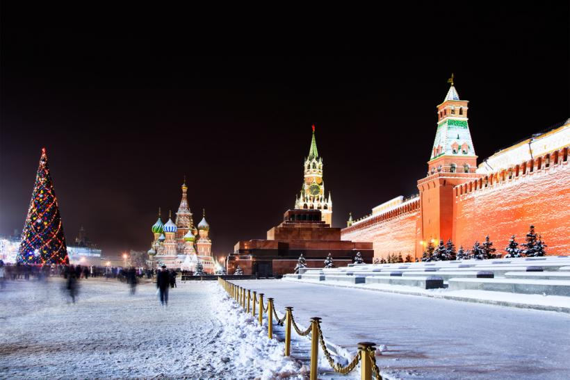 Moscow Red Square winter by Shutterstock