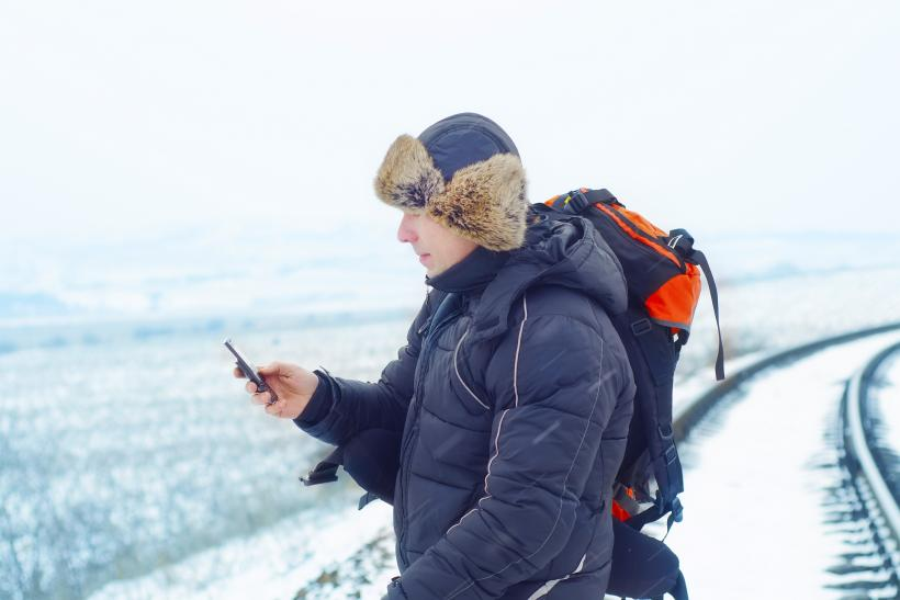 Operate Your Smartphone in Winter Cold