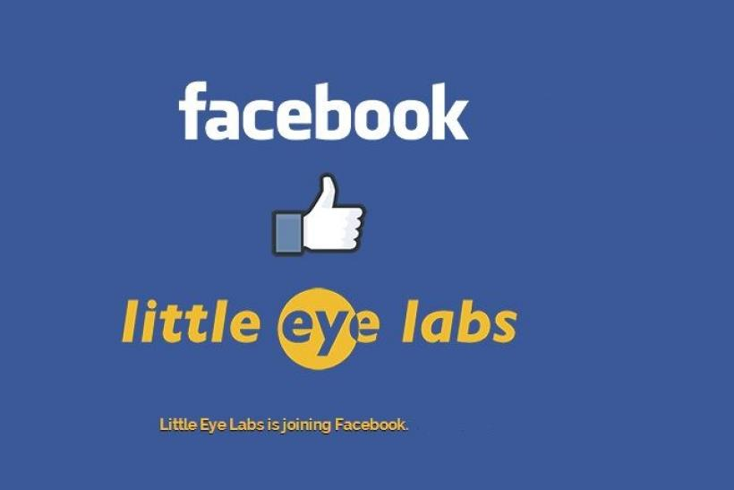 Facebook Acquires Bangalore-Based Startup, Little Eye Labs