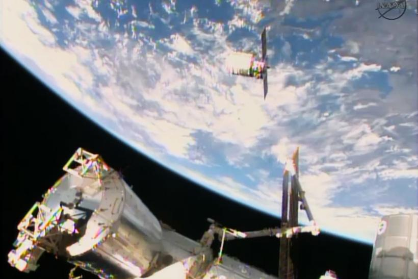 Cygnus Arriving At The ISS