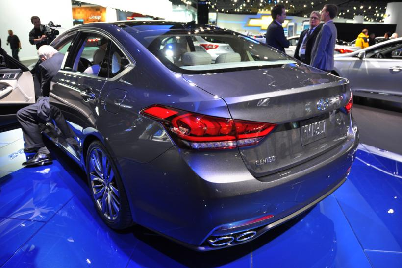 The 2015 Hyundai Genesis
