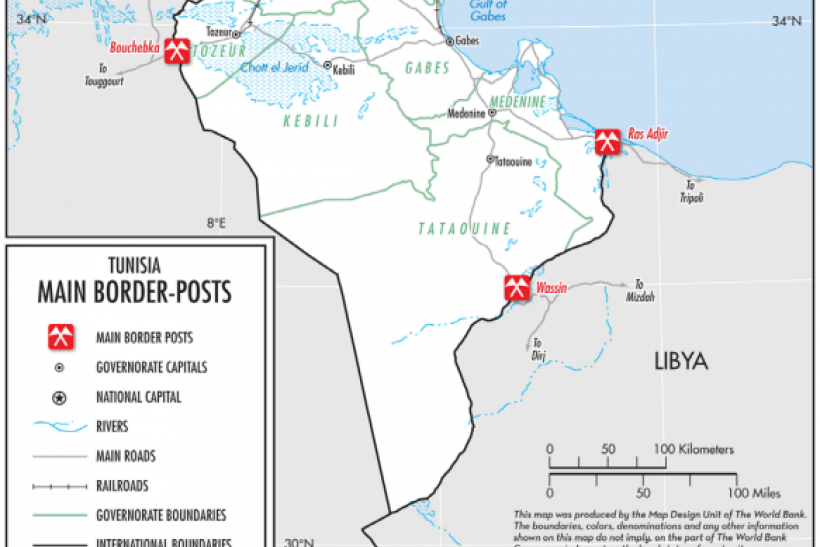 Tunisia Main Border Posts World Bank