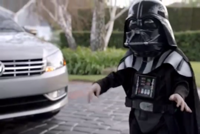 The Force (Darth Vader) Volkswagen (VW) Super Bowl ad