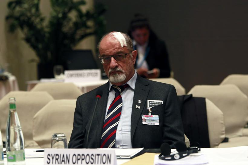 Syrian Opposition_Switzerland Peace Talks