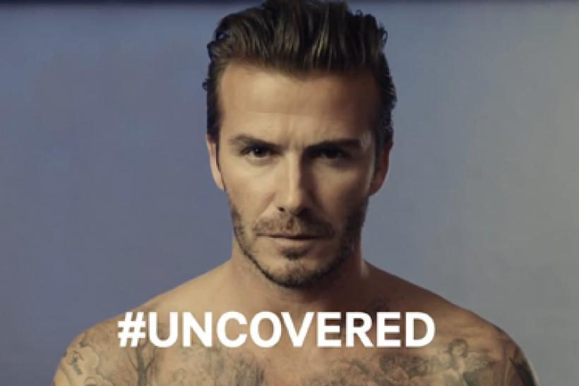 Beckham in the buff?