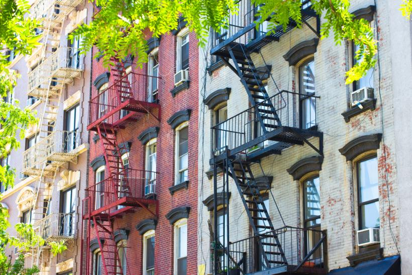 NY apartments by Shutterstock