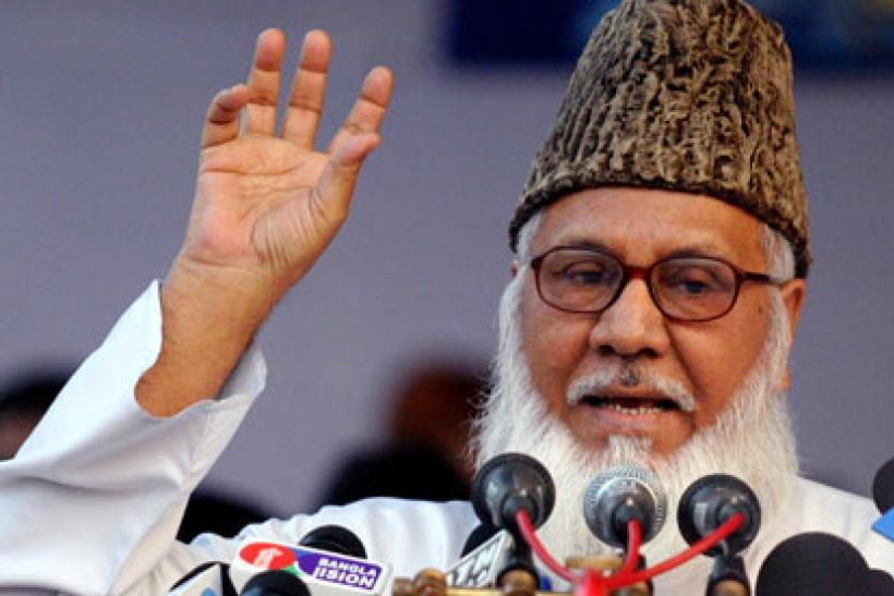 Matiur Rahman Nizami, chief of the Jamaat-e-Islami party