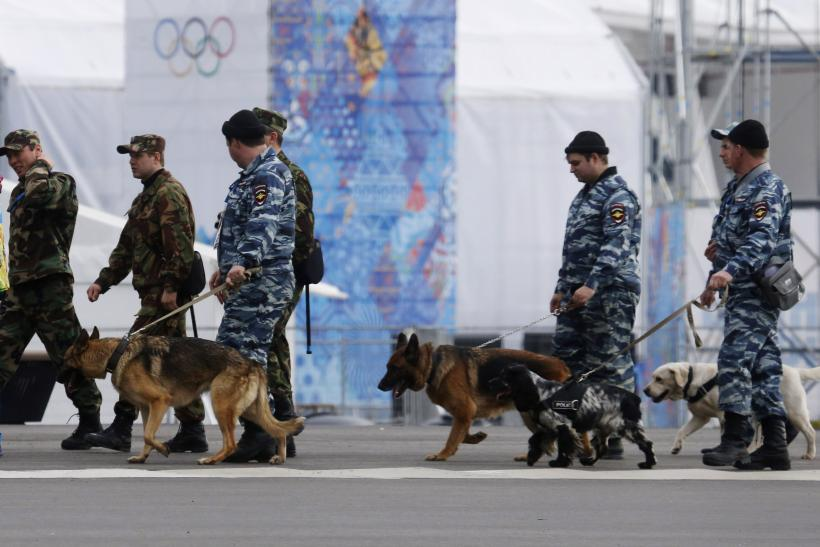 Sochi Security Jan 2014