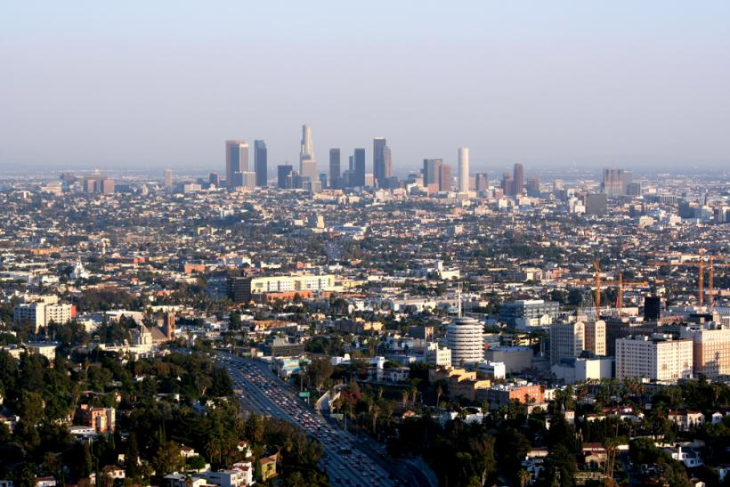 Los Angeles Skyline by Shutterstock