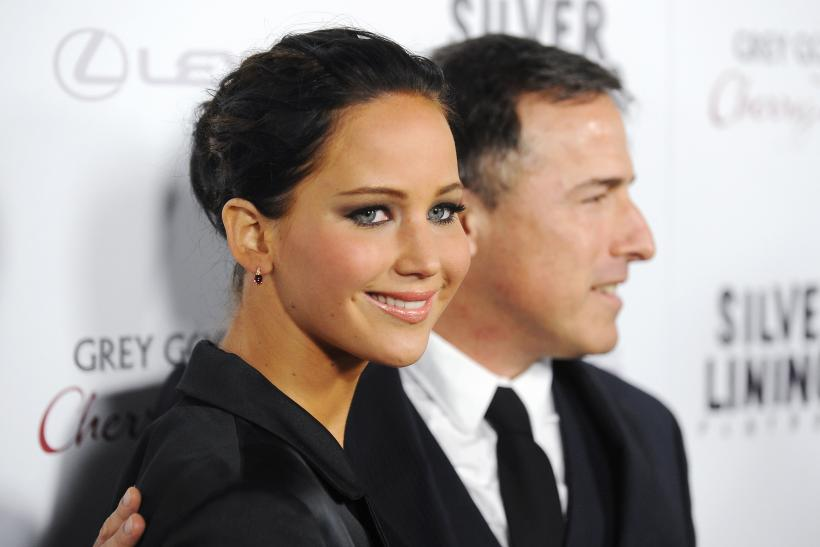 Jennifer Lawrence and David O. Russell