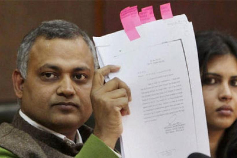 Law Minister Somnath Bharti