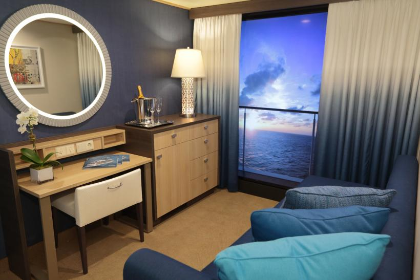 Royal Caribbean Virtual Balcony
