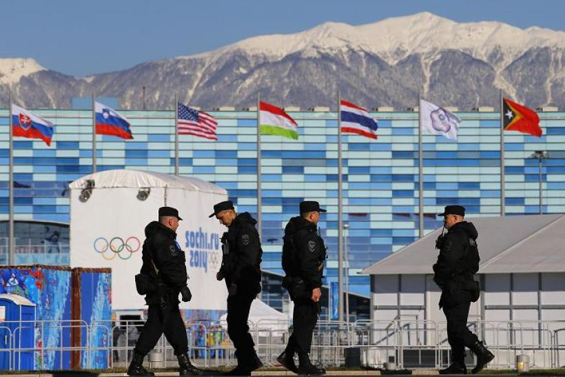 Sochi Russia Security Feb 2014 2