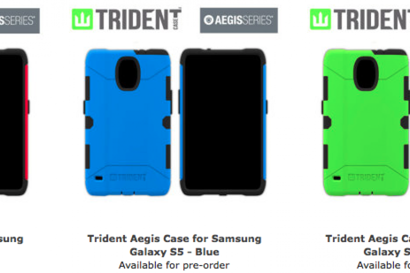 Supposed Samsung Galaxy S5 protective cases