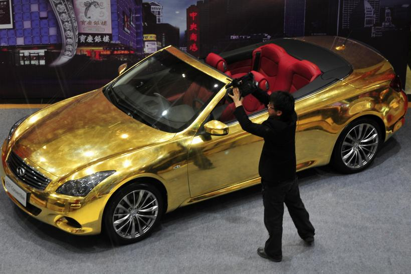 China Gold Car 2013