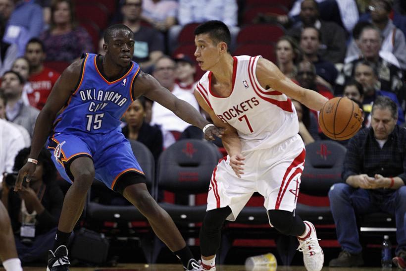 Jeremy Lin Houston Rockets