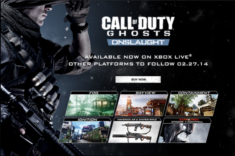 Call of Duty: Ghosts' Update Causes Xbox One Issues