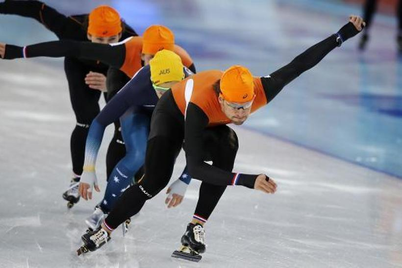 Sochi Dutch Speedskaters 2