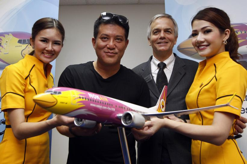 Boeing and Nok Air announce a deal