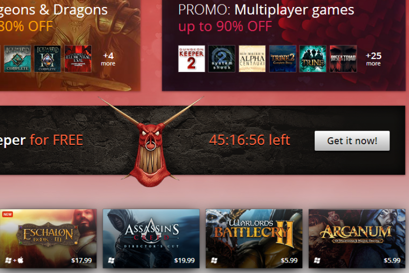 Dungeon Keeper' Free On GOG: 1997 Hit Strategy Game A Free